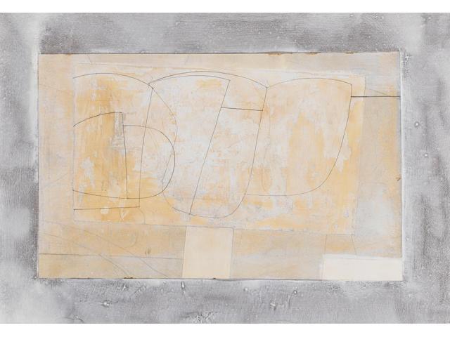 Ben Nicholson (1894-1982) Marble 28 x 38 cm. (11 x 15 in.)