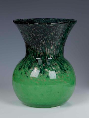 A Monart vase Shape HG, size V+