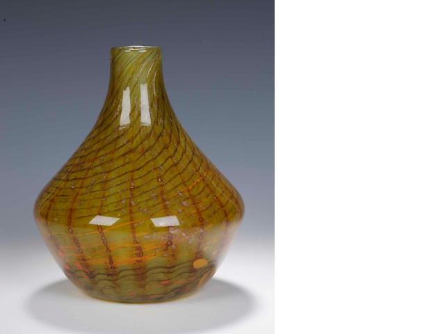 A rare Monart vase,
