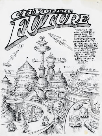 R. Crumb, City of the Future