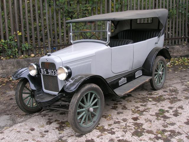 1923 Overland Model 91 Tourer  Chassis no. 111130 Engine no. 132210