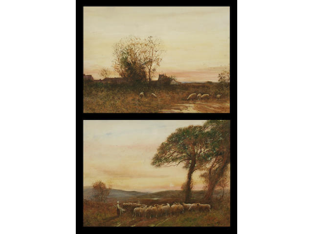 "Fred Hines ""Farnham Common"" and ""Leith Hill"", a pair,"