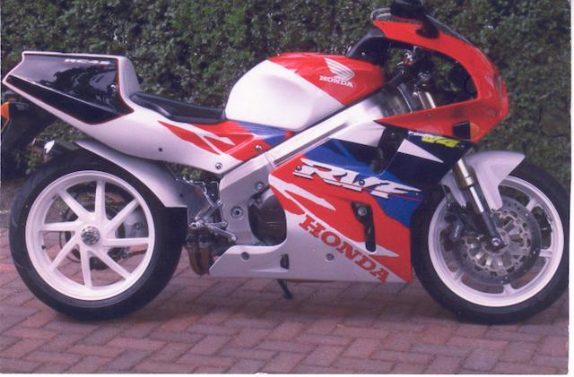 1995 Honda RVF 750 Type RC 45  Frame no. RC 2100121 Engine no. RC 2100075