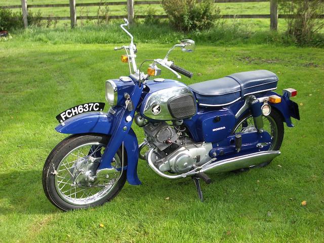 1965 Honda 150cc C95