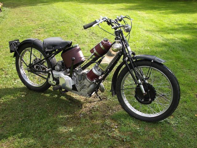 1923 Scott 500cc Tourer  Frame no. 2808 Engine no. Y7833