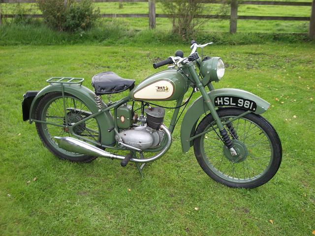 1949 BSA 123cc Bantam