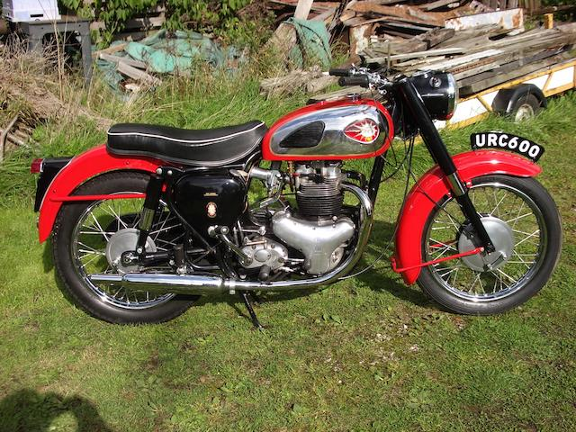 1960 BSA 646cc A10 Super Rocket  Frame no. GA7 Engine no. DA10R3269 HC