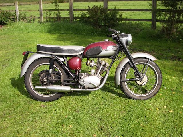 c.1956 Triumph 200cc Tiger Cub