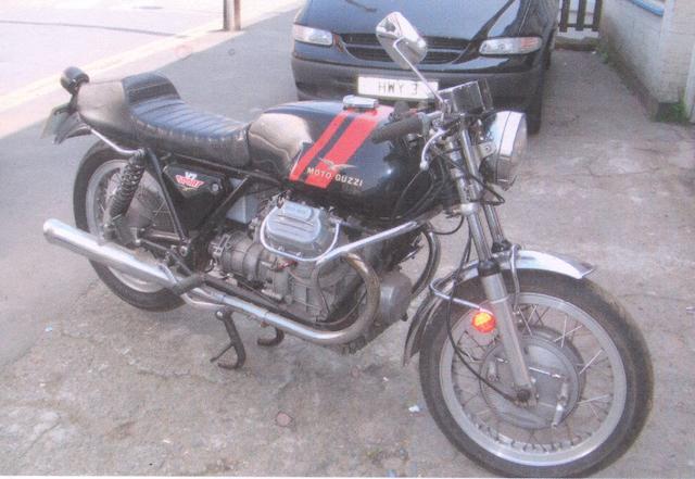 1973 Moto Guzzi V7 Sport  Frame no. VK 12768 Engine no. VK 31680