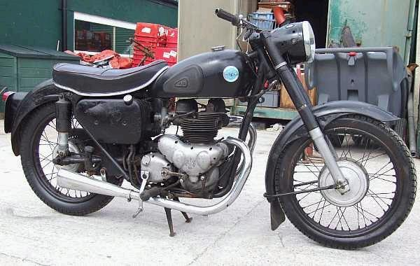 1955 AJS 498cc Model 20  Engine no. 55/20 24859