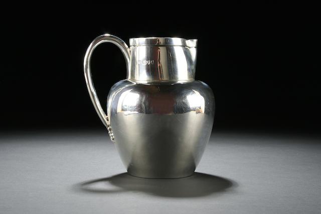 A Victorian beer jug by John Aldwinkle & Thomas Slater, 1893