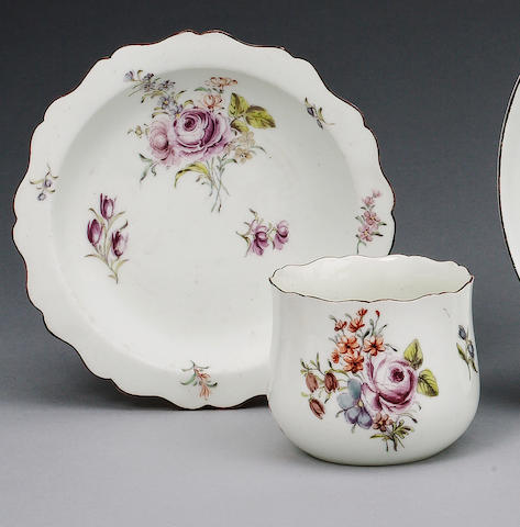 Chelsea finger bowl and stand