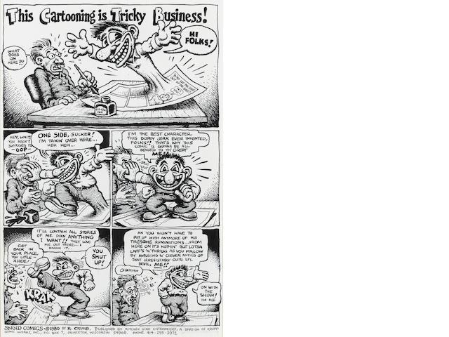 R. Crumb, This Cartooning is Tricky Business