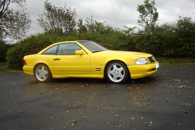 1998 Mercedes-Benz SL320 Coupé WDB1290632F170997