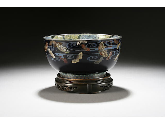 A good cloisonné bowl, Taisho
