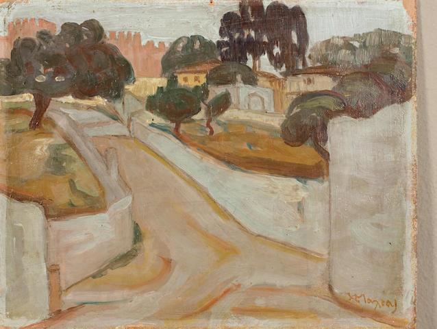 Constantinos Maleas (1879-1928) a) View of Delfi (2)