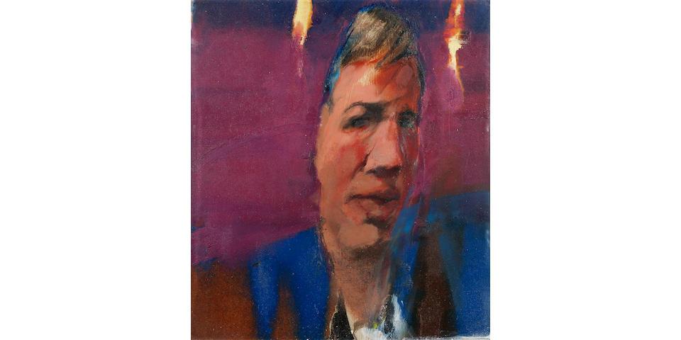 Michael Andrews (1928-1995) Craigie Aitchison 24.8 x 21.5 cm. (9 3/4 x 8 1/2 in.)