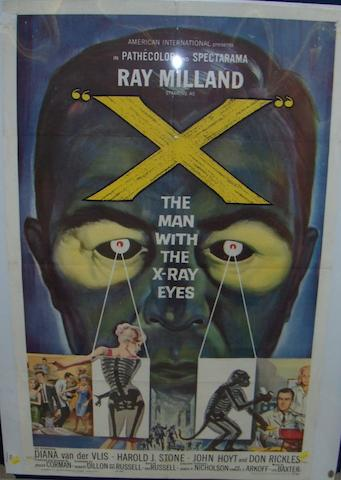 The Man with the X-Ray Eyes, American International Pictures (AIP), 1963,