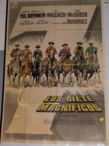 The Magnificent Seven, United Artist, 1960, Art by Mac