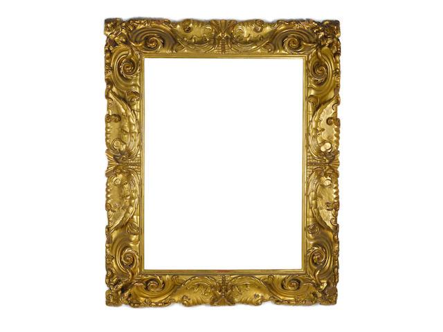 1 large 17th Century style frame