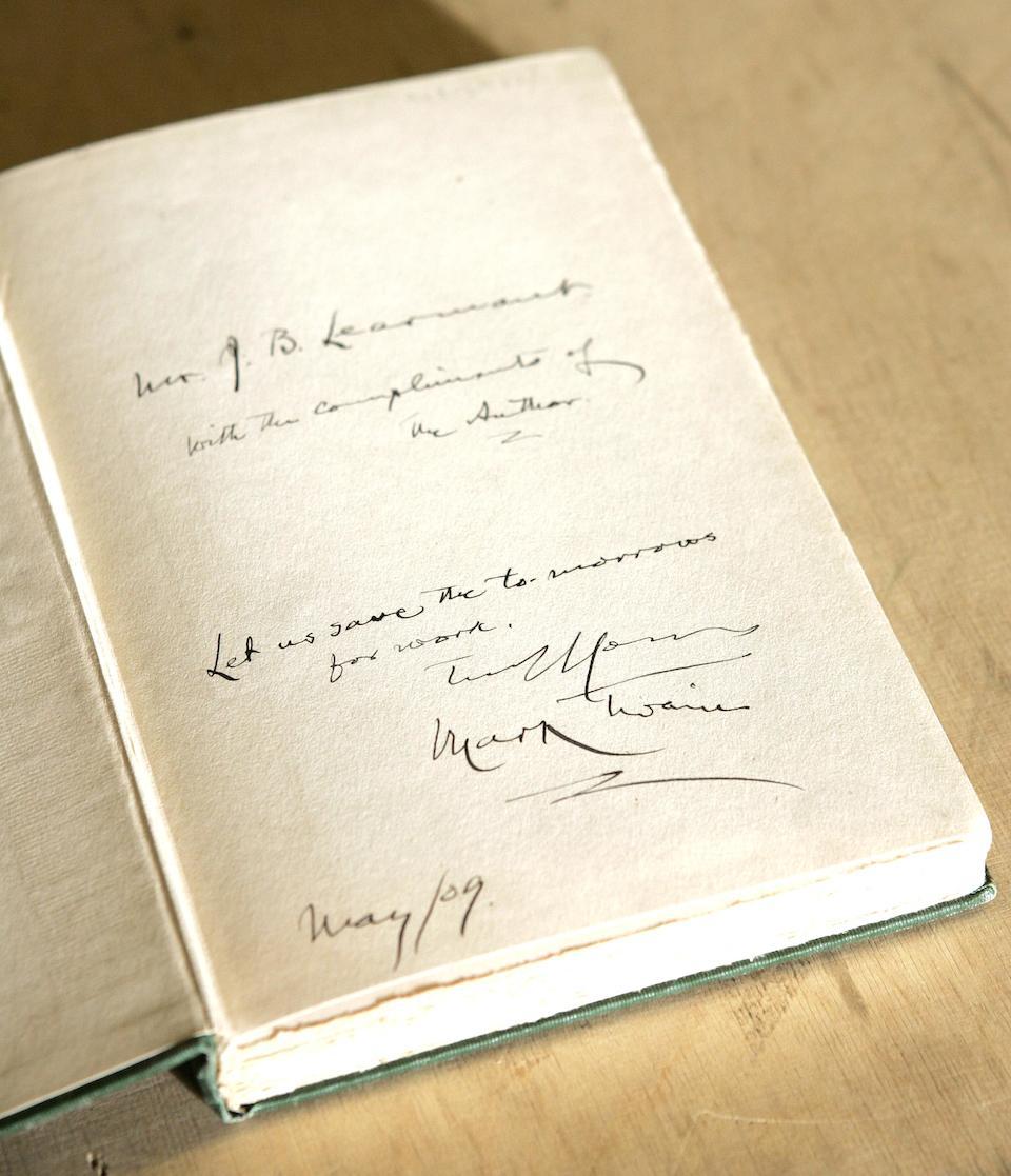 CLEMENS (SAMUEL LANGHORNE) 'Mark Twain' Is Shakespeare Dead? From my Autobiography