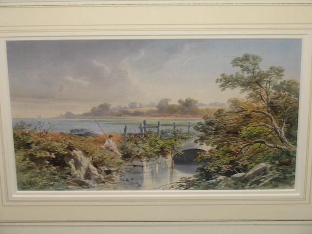 William Gray (British 19th century) 18cm x 32cm.