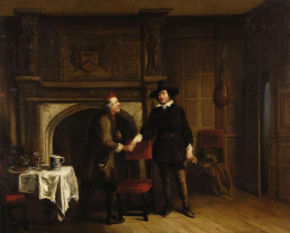 John Cawse (1779-1862) The greeting
