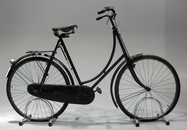A Royal Sunbeam ladies loop frame bicycle,