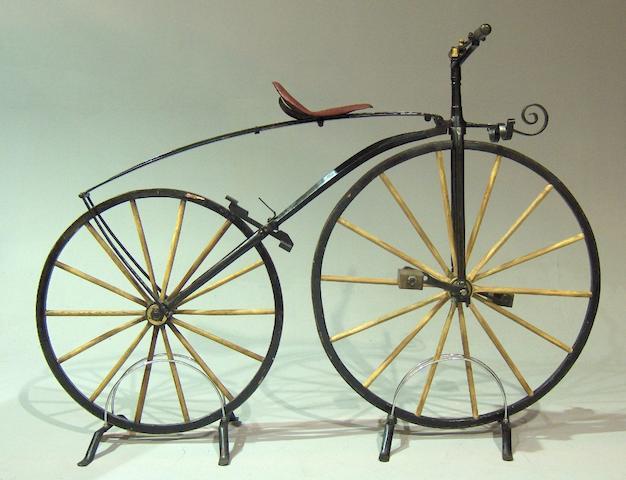 A replica velopcipede,