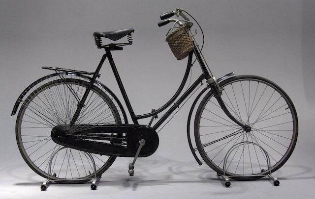 An Alldays & Onions ladies loop frame bicycle, 1920s,