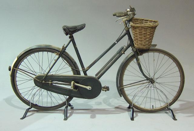 A Raleigh all-steel ladies bicycle, 1950s,