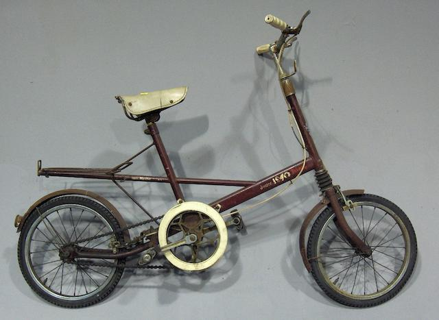 A Moulton 'Junior 1970' bicycle by Tri-ang,