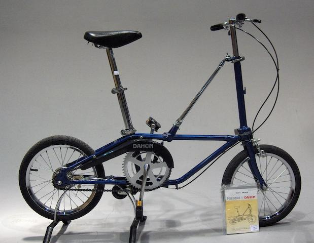 A Dohan folding bicycle,