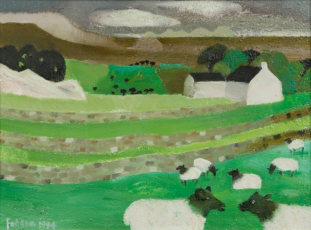 "Mary Fedden OBE RA (1915-) ""Yorkshire Dales"""