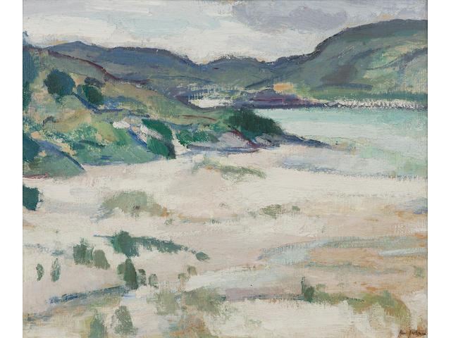 Samuel J Peploe RSA (1871-1935) 'Morar' (1924)