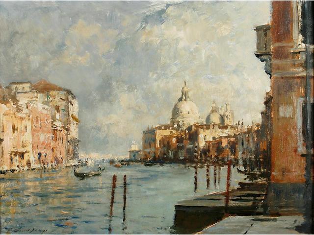 Edward Brian Seago, R.B.A., R.W.S. (British, 1910-1974) 'Chiesa della Salute - Venice'