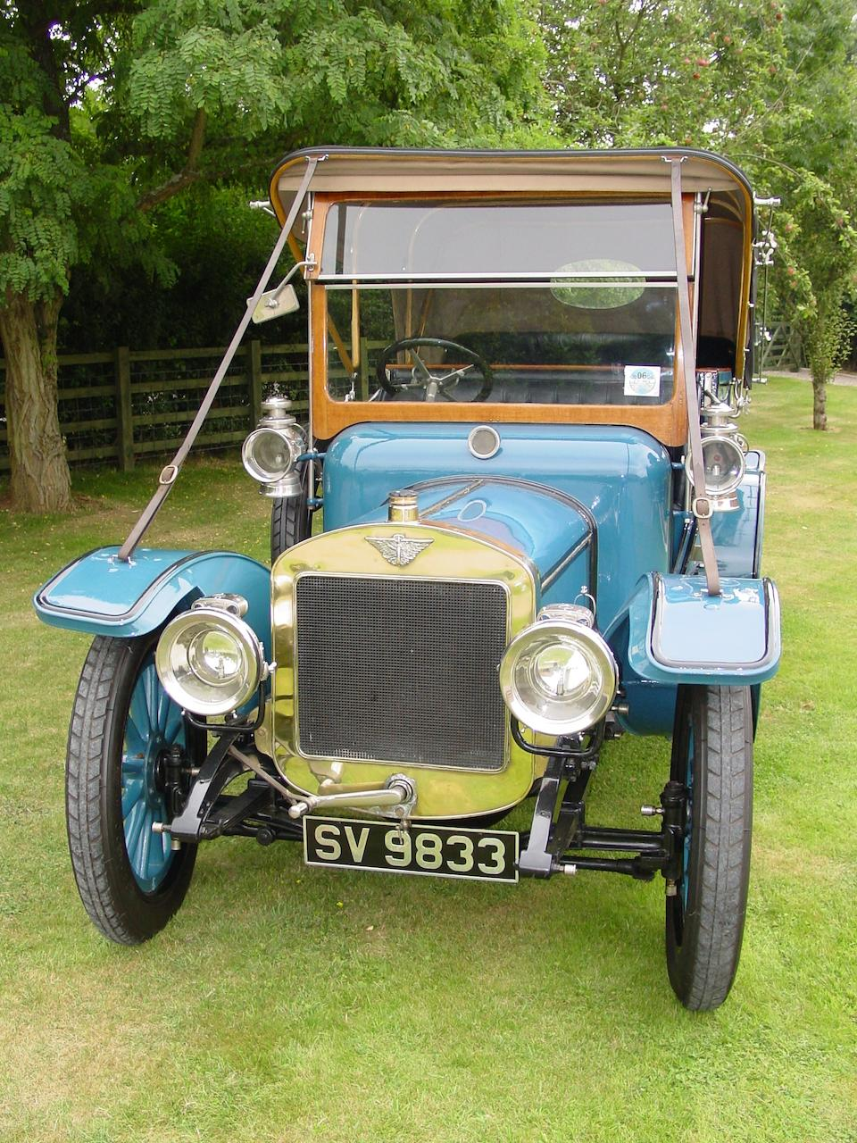 1910 Austin 18/24hp Endcliffe Tourer  Chassis no. 480 Engine no. 487/80