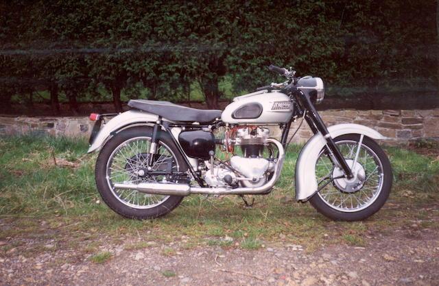 1957 Triumph 650cc Tiger 110