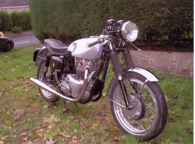 1954 BSA 650cc Rocket Gold Star Replica