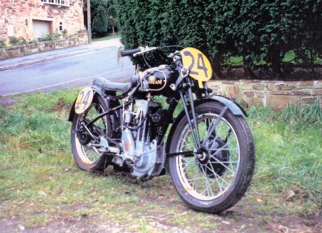 1930/1933 Sunbeam 493cc Model TT90 Racer