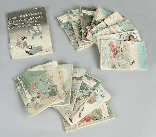 JAPANESE FAIRY TALES Japanese Fairy Tale Series, 18 vol. only (of 25, comprising nos. 1-3, 5-8, 10-15, 17-20 and 25)