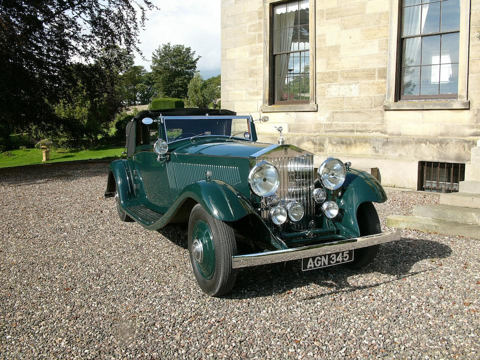 1933 Rolls-Royce 40/50hp Phantom II Continental Sedanca Coupe  Chassis no. 69MW Engine no. XO75