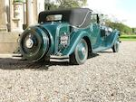 1933 Rolls-Royce 40/50hp Phantom II Continental Sedanca Coupe  Chassis no. 69MW Engine no. XO75