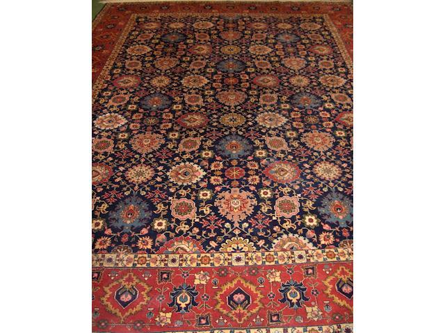 A Tabriz carpet North West Persia, 339cm x 249cm