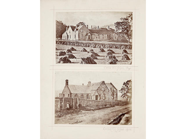 "LAURISTON, CRAMOND and ENVIRONS - PHOTOGRAPHY ""Photographs of Houses in the Vicinity of Lauriston Castle"" [title on upper cover]"