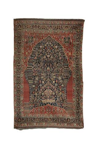 A fine Qashqa'i 'Millefleur' rug South West Persia, 244 x 155cm.