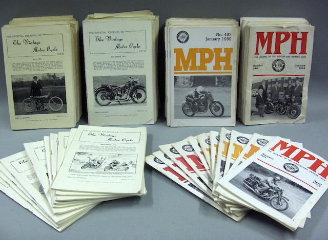 Assorted Motorcycle periodicals,
