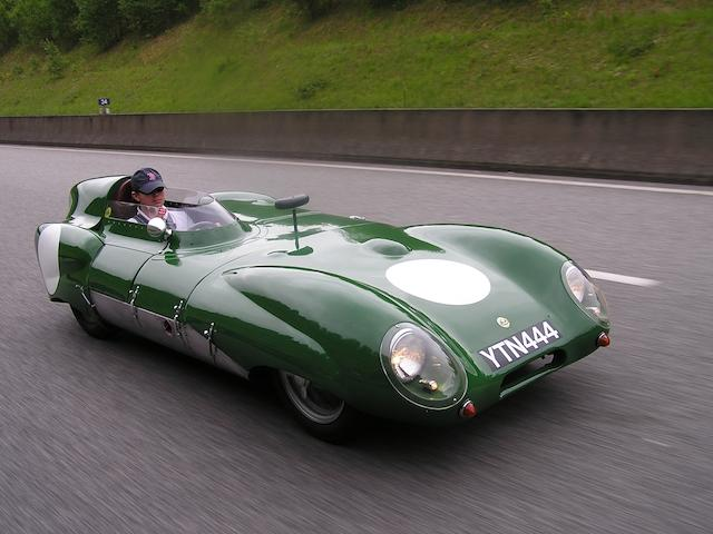 The Ex-Keith Hall/Team Lotus,1956 Lotus-Climax Sports-Racing Two-Seater MKXI-171