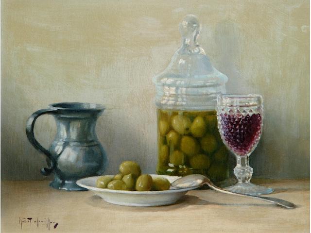 Robert Chailloux (born 1913) 'Les Olives'