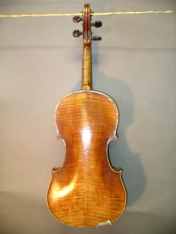 A Mirecourt Viola of the Caussin School  circa 1880